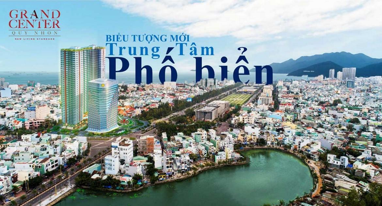 Vị trí dự án căn hộ chung cư Grand Center Quy Nhơn
