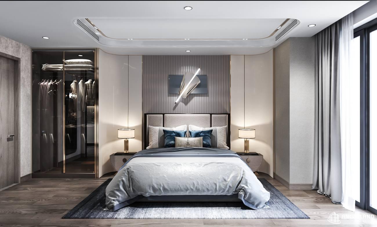 Thiết phòng ngủ nhà mẫu căn hộ 1 phòng ngủ Asiana Đà Nẵng