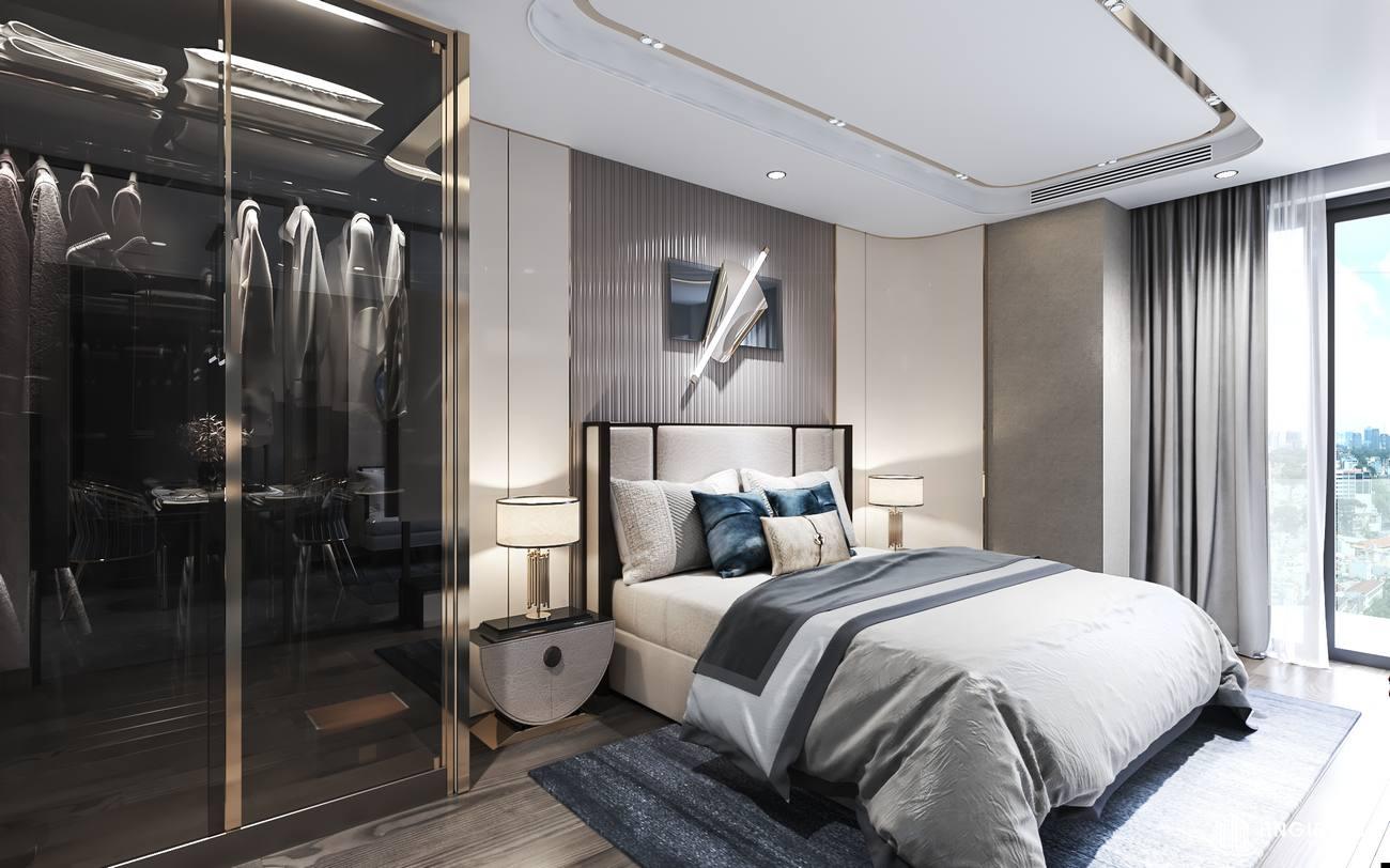 Thiết kếp phòng ngủ nhà mẫu căn hộ 1 phòng ngủ Asiana Đà Nẵng
