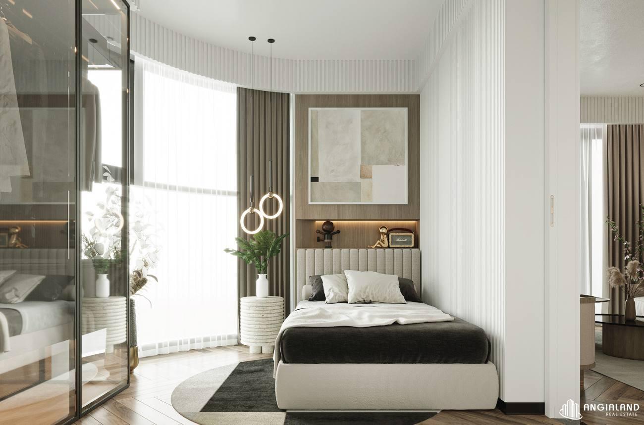 Thiết kế phòng ngủ 2 nhà mẫu 3 phòng ngủ Asiana Đà Nẵng