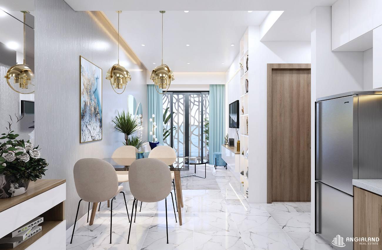 Thiết kế bếp nhà mẫu 2 phòng ngủ Asian Đà Nẵng