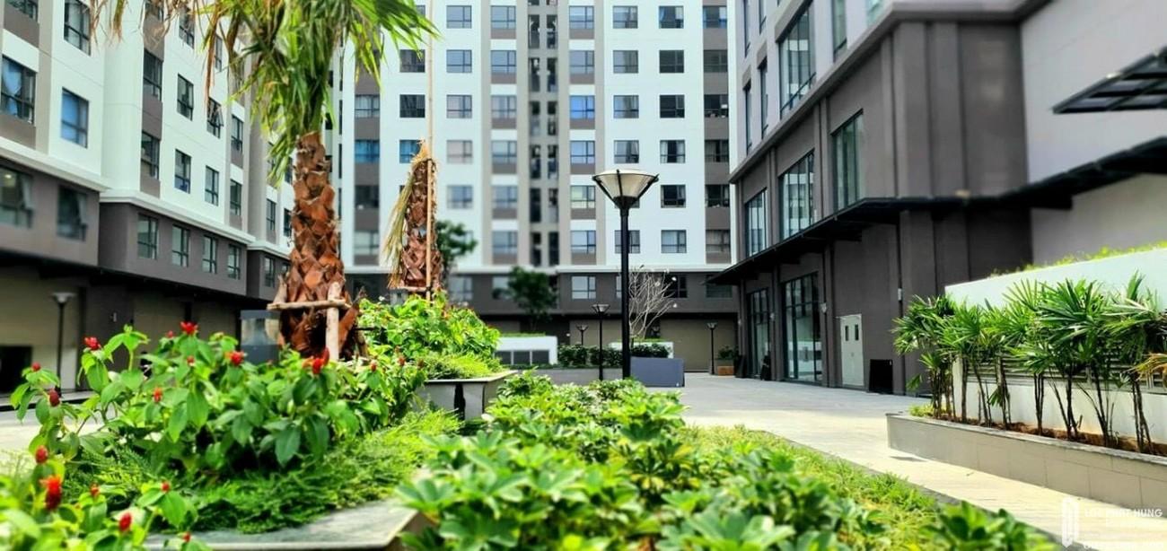Công viên nội khu dự án Green River Quận 8 chủ đầu tư 276 Ngọc Long 03/2021