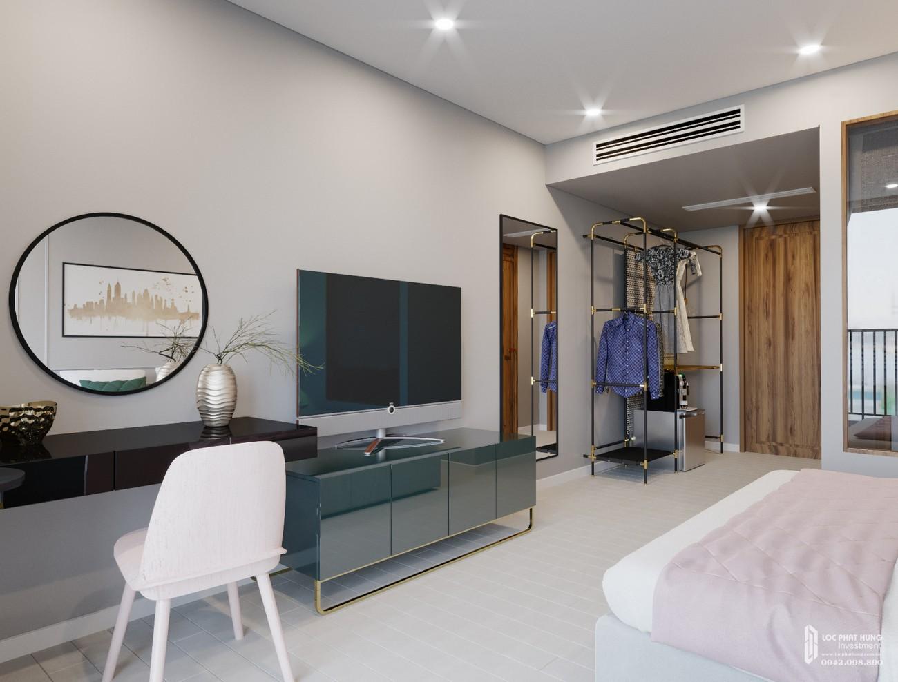 Nhà mẫu căn hộ condotel sự án Arena Cam Ranh Block Light