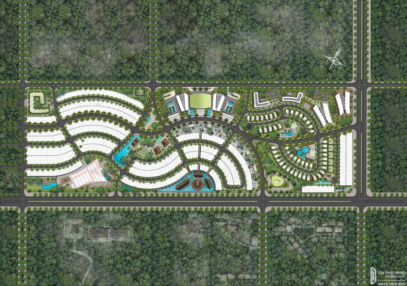 Mặt bằng tổng thể dự án Mũi Né Summer Land Phan Thiết