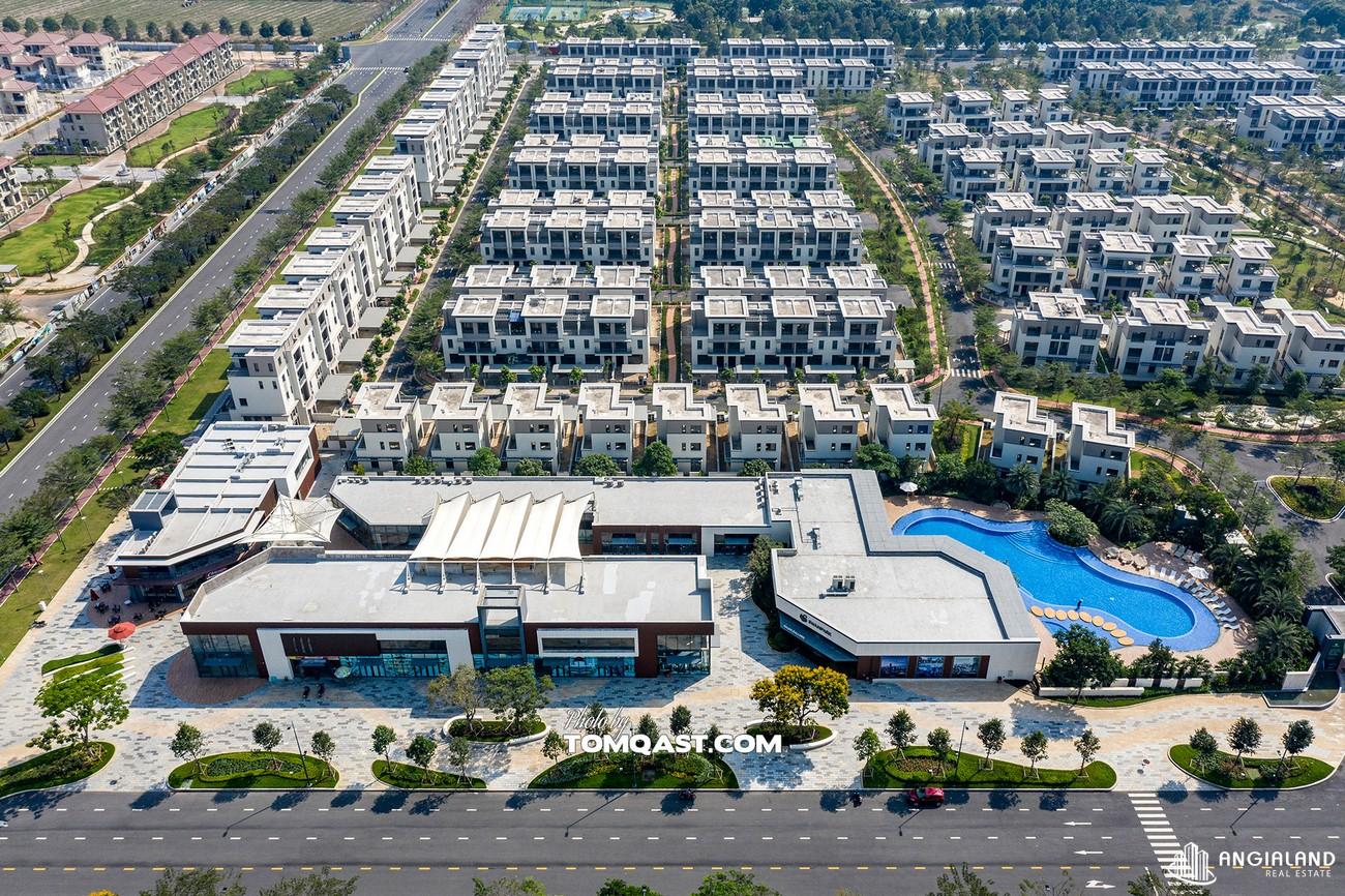 Mặt bằng dự án Nhà Phố  Biệt Thự Swan Park Nhơn Trạch Đường Đường số 7 chủ đầu tư CFLD