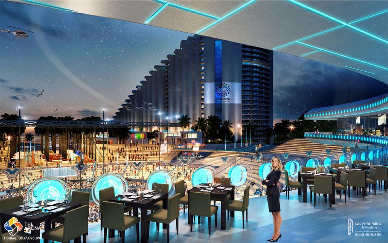 Nhà hàng 5 sao dự án condotel the Arena Cam Ranh
