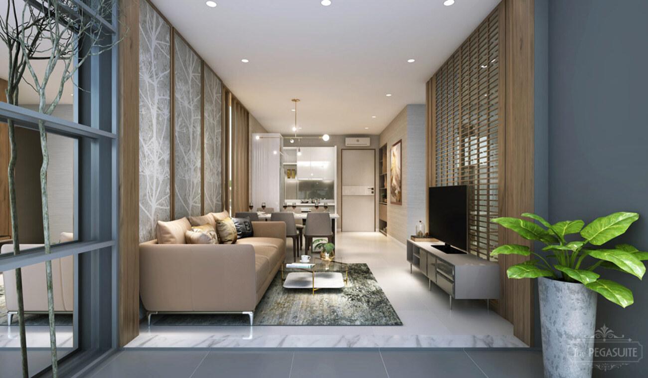 nhà mẫu dự án căn hộ cao cấp dự án Pegasuite 3 đường Đào Trí Quận 7