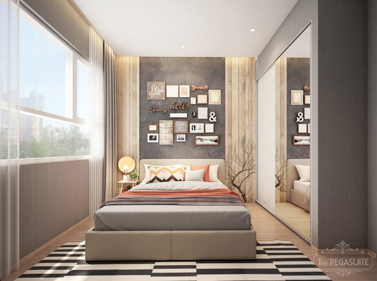 nhà mẫu dự án căn hộ cao cấp The Pegasuite 3 đường Đào Trí Quận 7