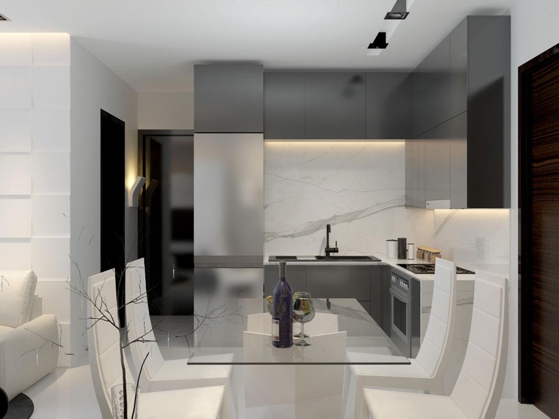 Nhà mẫu dự án căn hộ cao cấp Hoàng Quốc Việt Quận 7