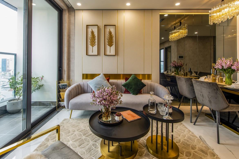 Đường nét thiết kế mê hoặc lòng người tại các căn hộ Sunshine Continental