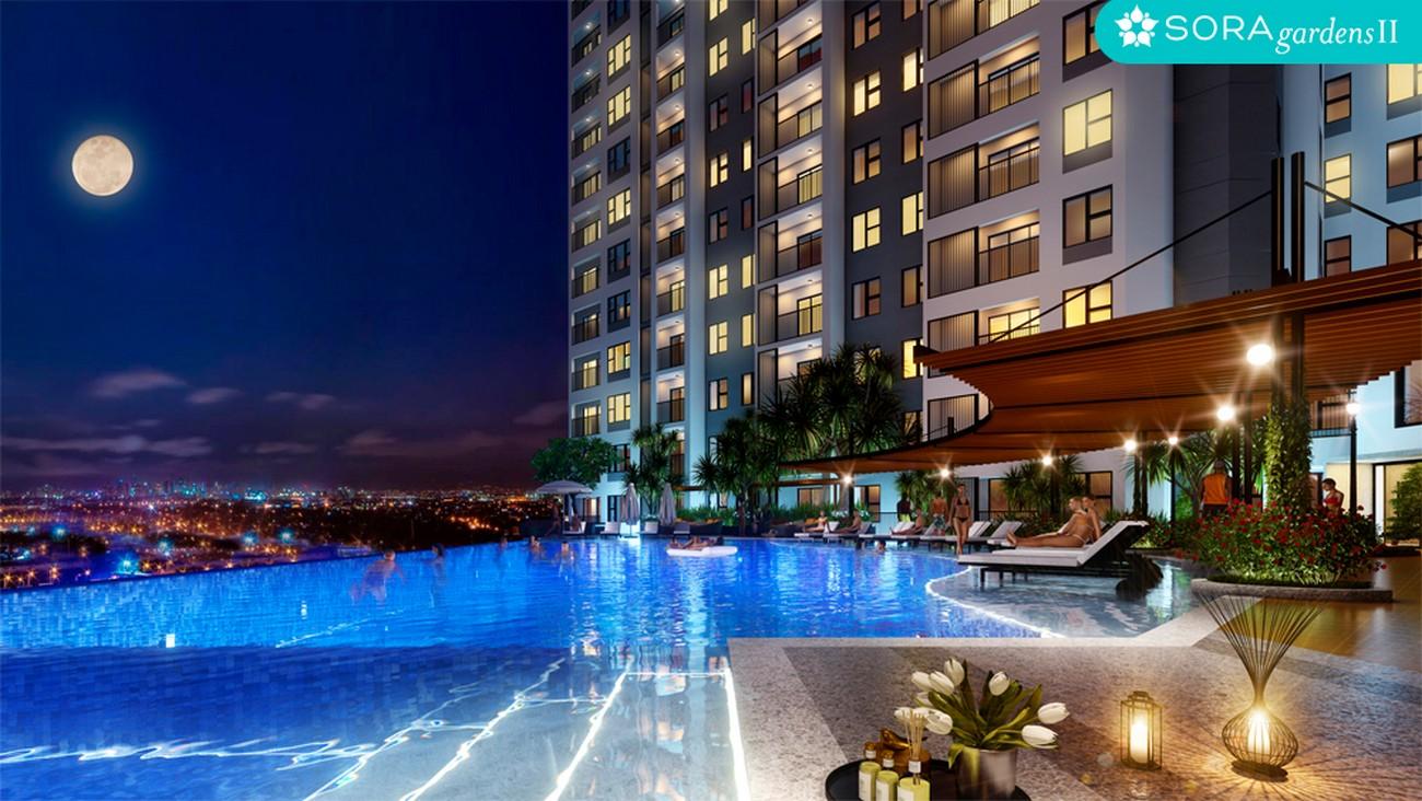 Phối cảnh tổng thể dự án căn hộ chung cư Sora Gardens II Thủ Dầu Một Đường Hùng Vương chủ đầu tư BTMJR Investment