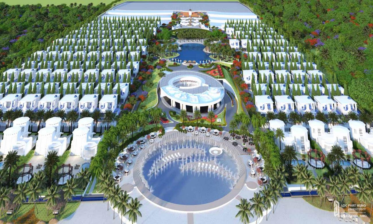 Phối cảnh dự án căn hộ condotel Cam Ranh Bay Đường Nguyễn Tất Thành chủ đầu tư Việt Nhật