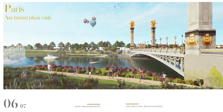 Thiết kế dự án Royal Star Lake Paris -  m hưởng phồn vinh