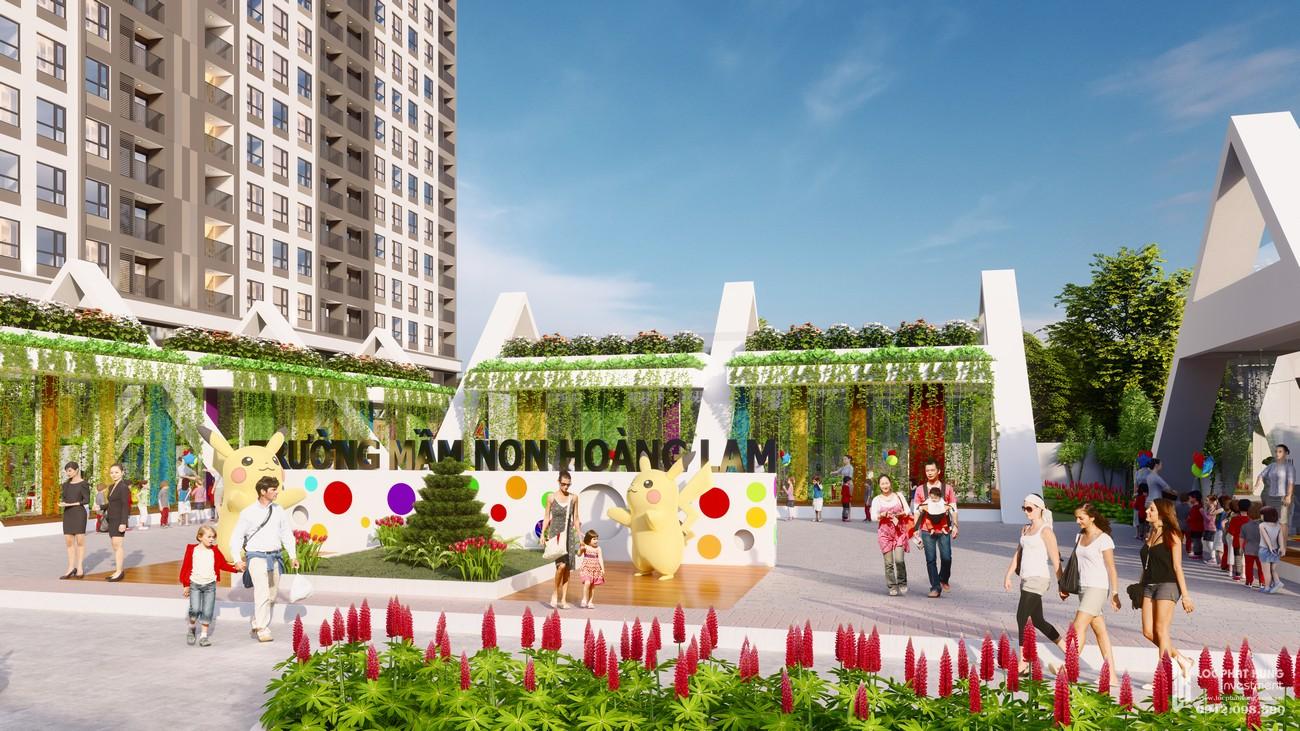 Phối cảnh tổng thể khuôn viên dự án Golden City Tây Ninh