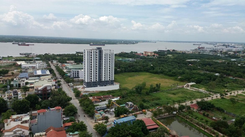Phối cảnh tổng thể dự án Hoàng Quốc Việt
