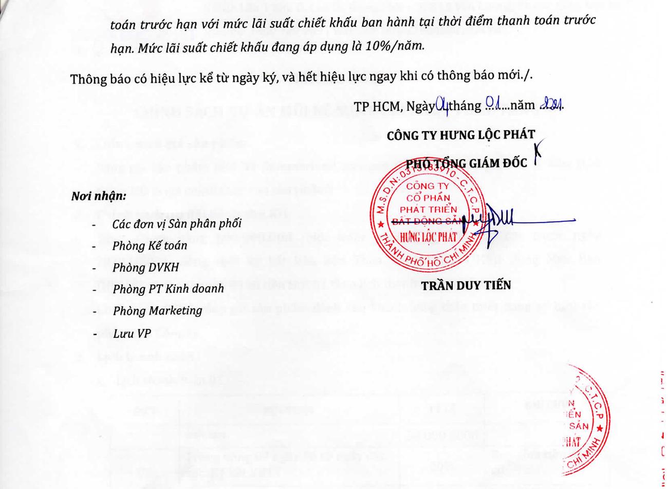 Phương thức thanh toán dự án Mũi Né Summerland Phan Thiết