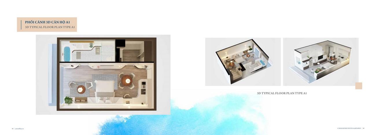 Thiết kế dự án căn hộ condotel Cam Ranh Bay Đường Nguyễn Tất Thành chủ đầu tư Việt Nhật