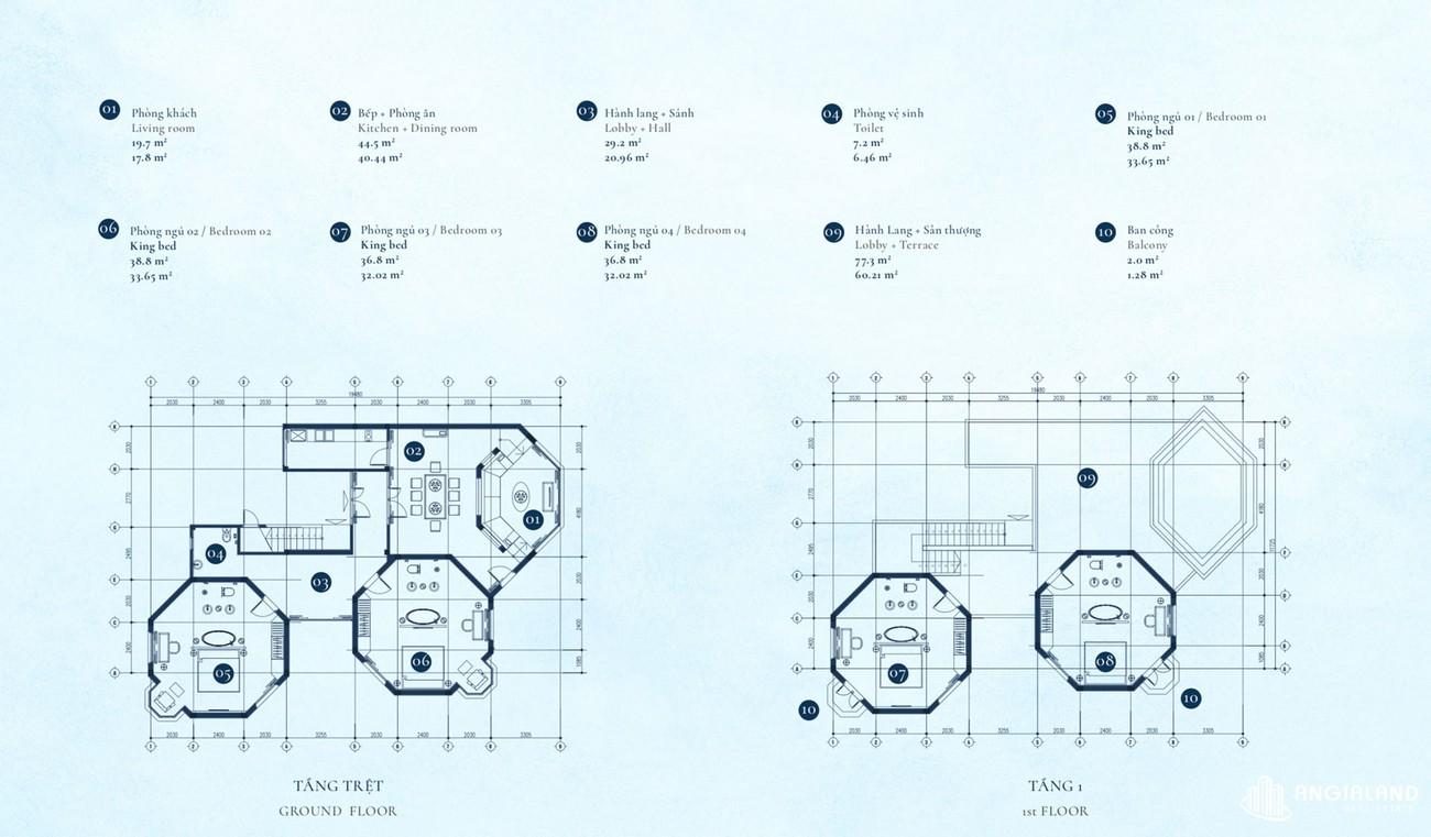 Thiết kế dự án căn hộ villa Cam Ranh Bay Đường Nguyễn Tất Thành chủ đầu tư Việt Nhật