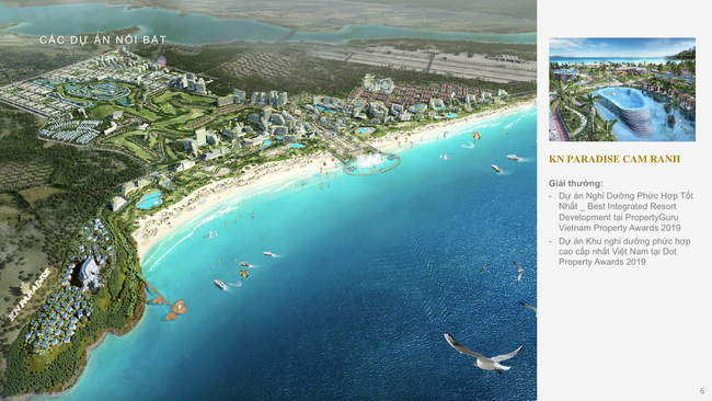 Chủ đầu tư KN Paradise Cam Ranh