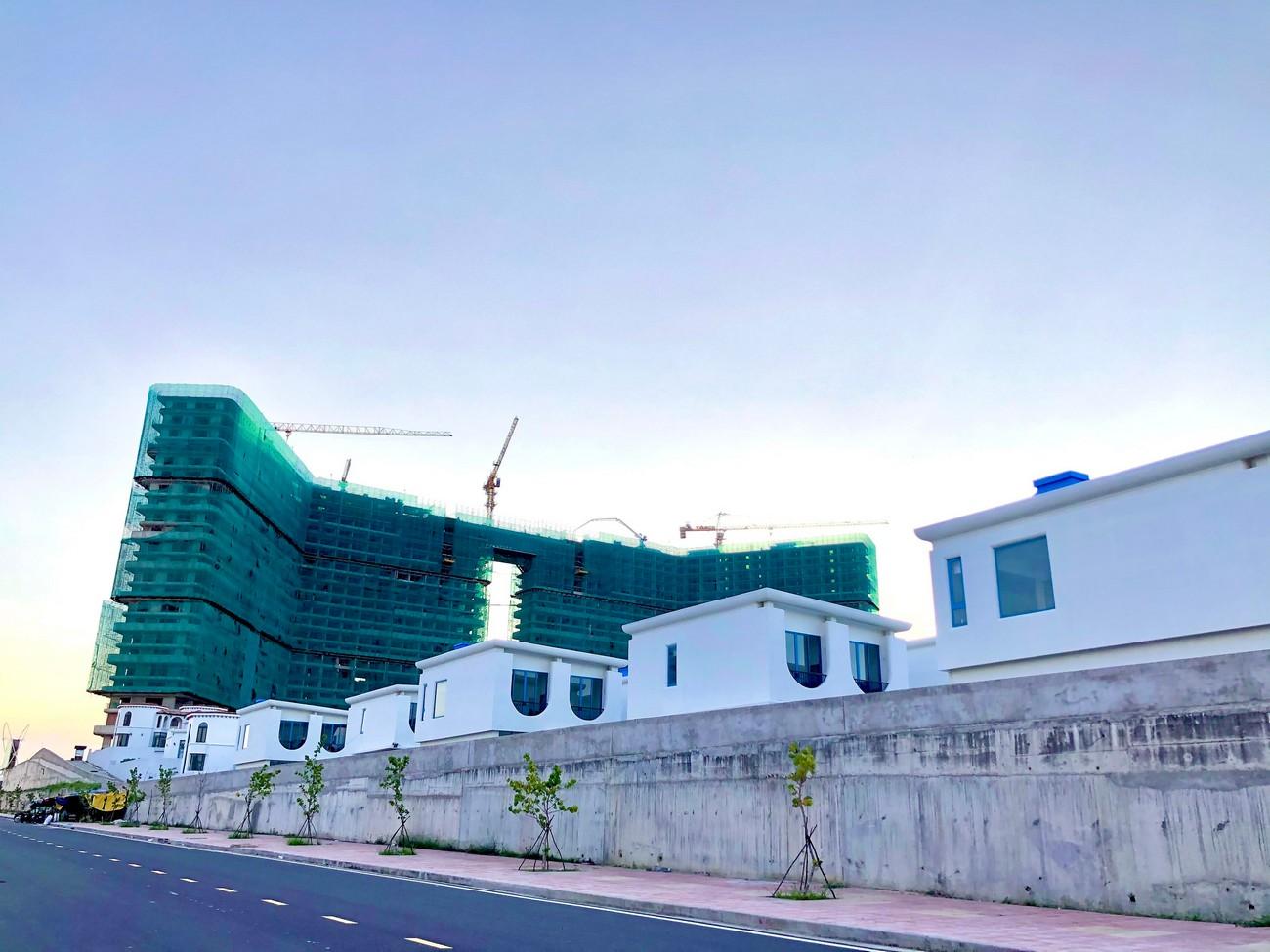 Tiến độ dự án căn hộ condotel Cam Ranh Bay Đường Nguyễn Tất Thành chủ đầu tư Việt Nhật