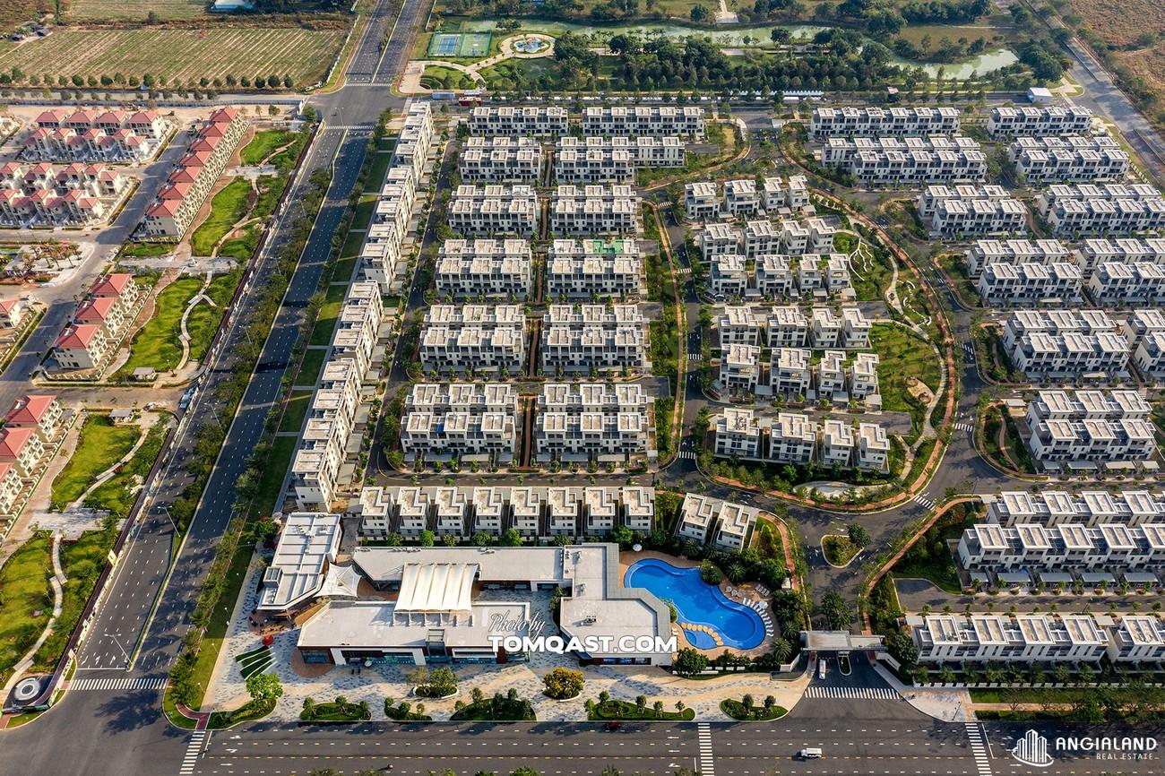 Tiến độ dự án Nhà Phố Biệt Thự Swan Park Nhơn Trạch Đường Đường số 7 chủ đầu tư CFLD