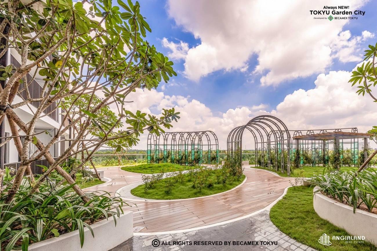 Công viên nội khu Sora Garden 2 Bình Dương - Hình ảnh thực tế