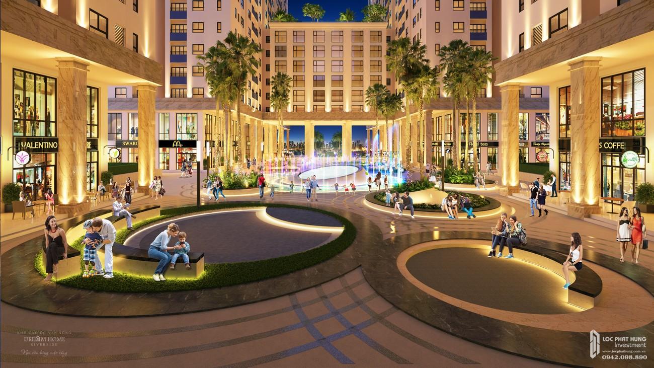Tiện ích dự án căn hộ chung cư Dream Home Riverside Quận 8 Đường Nguyễn Văn Linh chủ đầu tư Công ty TNHH Lý Khương