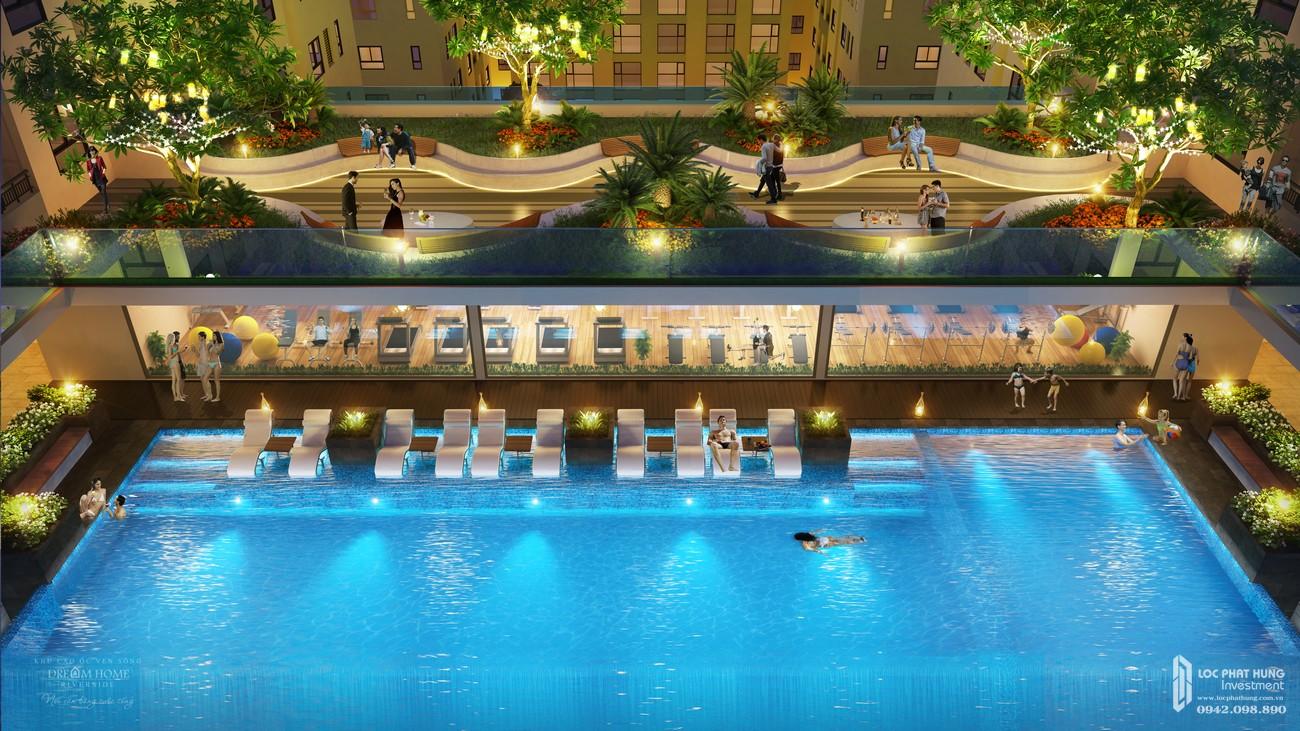 Tiện ích dự án căn hộ chung cư Dream Home Riverside Quận 8 Đường Nguyễn Văn Linh chủ đầu tư Công ty cổ phần Nhà Mơ