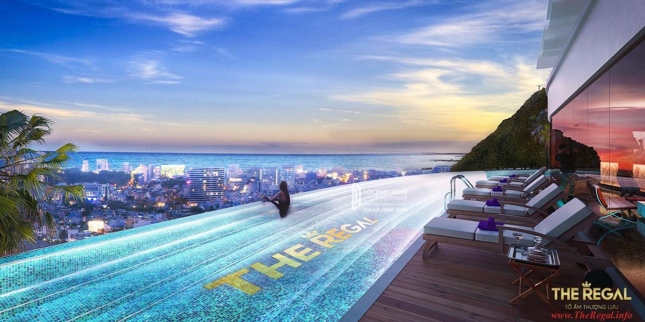Tiện ích hồ bơi dự án Biệt thự biển The Regal Vũng Tàu