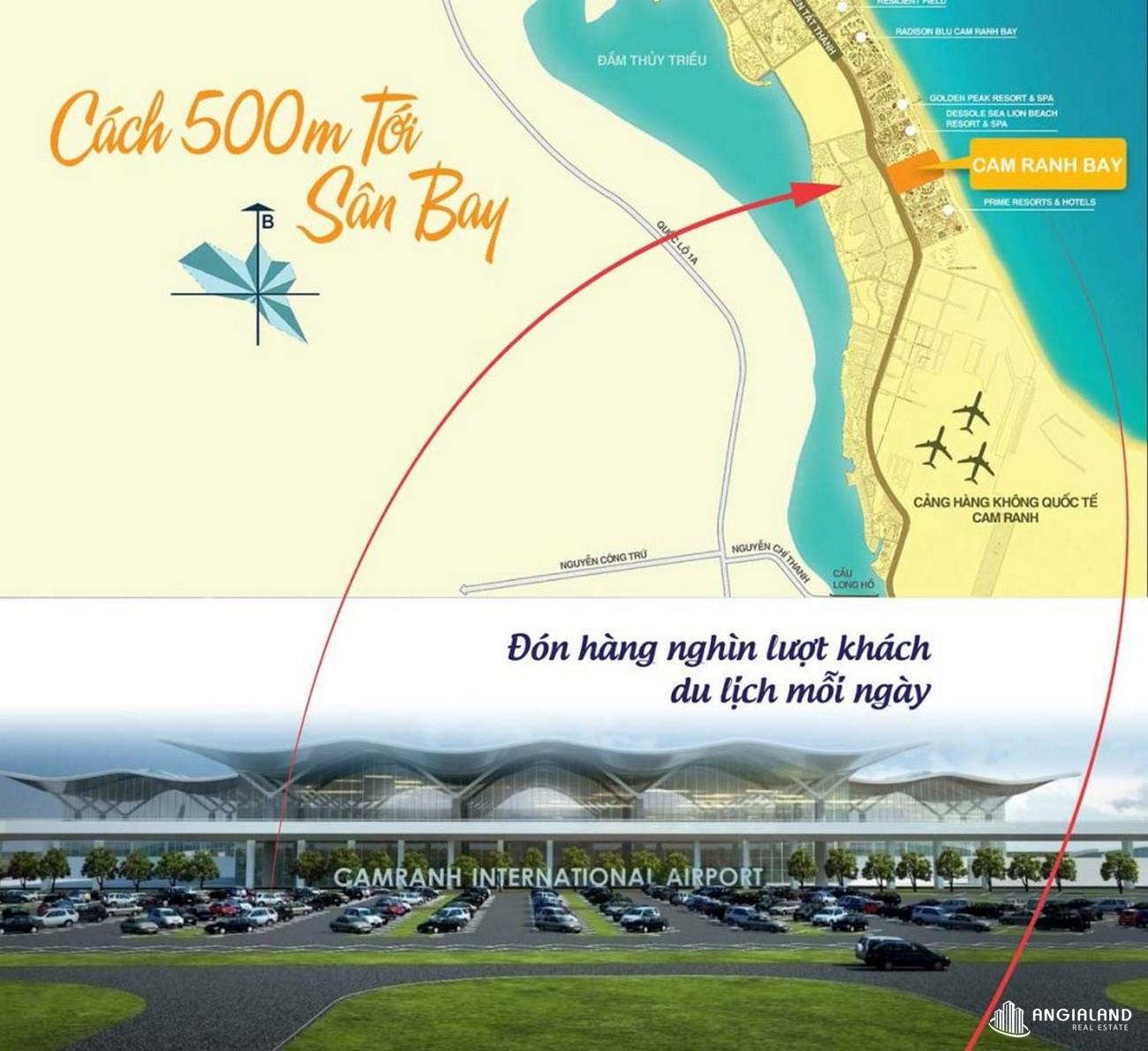 Vị trí địa chỉ dự án căn hộ condotel Cam Ranh Bay Đường Nguyễn Tất Thành chủ đầu tư Việt Nhật