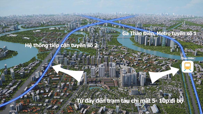 Các tuyến đường huyết mạch đều chảy qua Laimian City