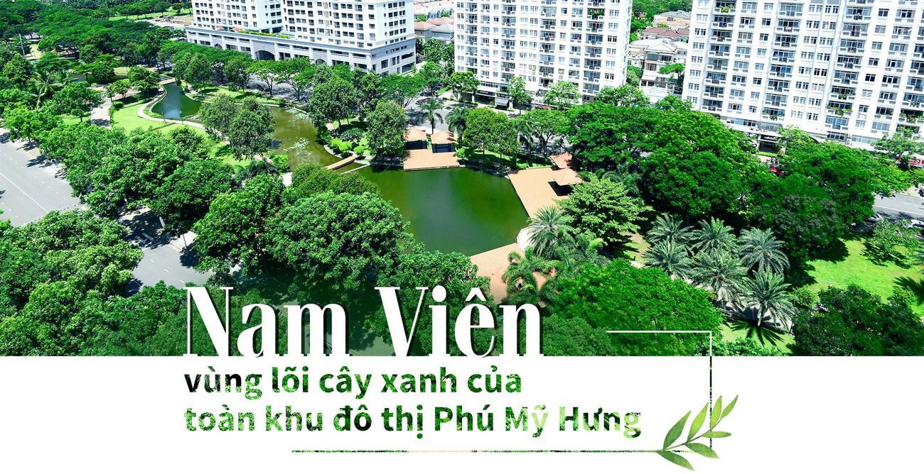 Công viên Nam Viên Phú Mỹ Hưng
