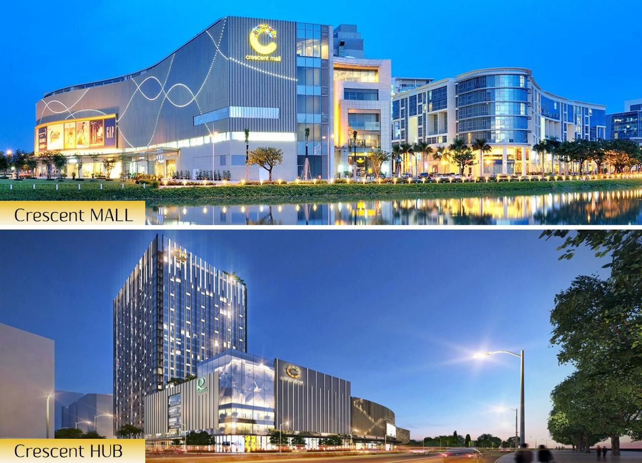 Trung tâm thương mại Crescent HUB (Crescent Mall 2) được khánh thành vào tháng 12/2019