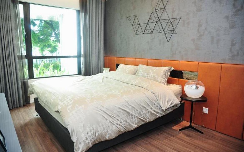 Thiết kế phòng ngủ căn hộ D'lusso Emerald Quận 2