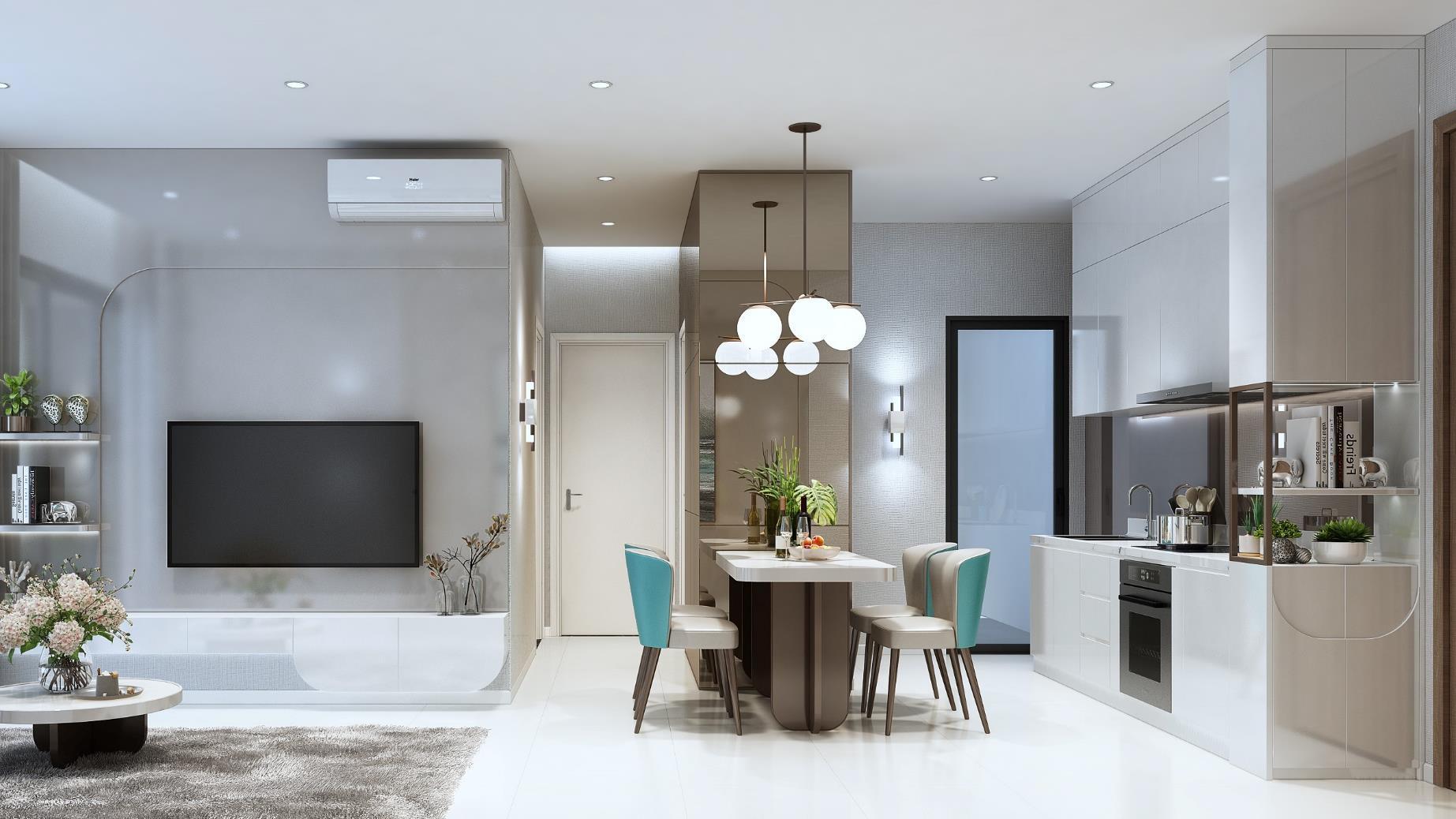 Nhà mẫu dự án căn hộ D'lusso Emerald Quận 2