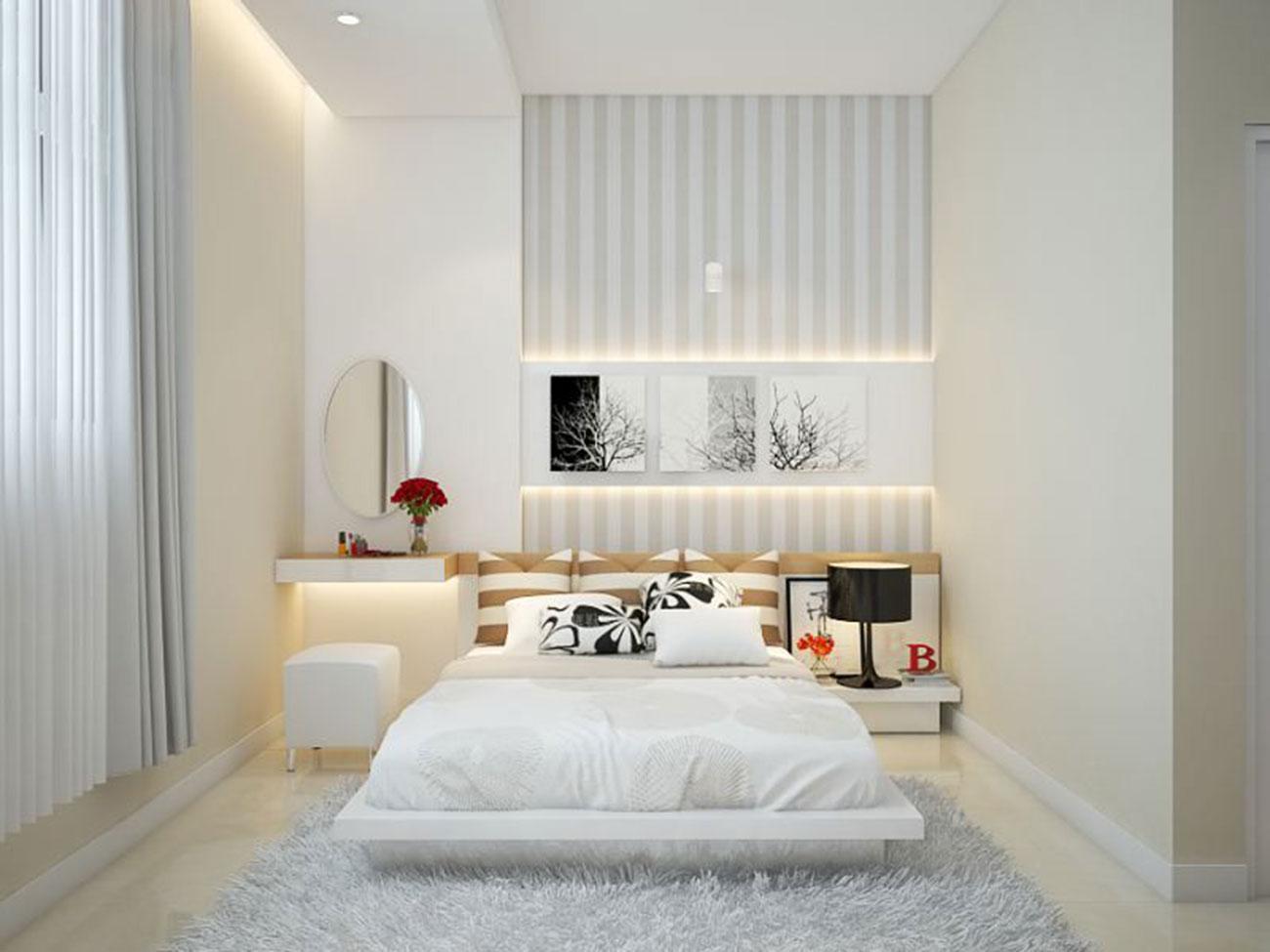 Nhà mẫu phòng ngủ căn hộ tại Tanimex Bình Phú
