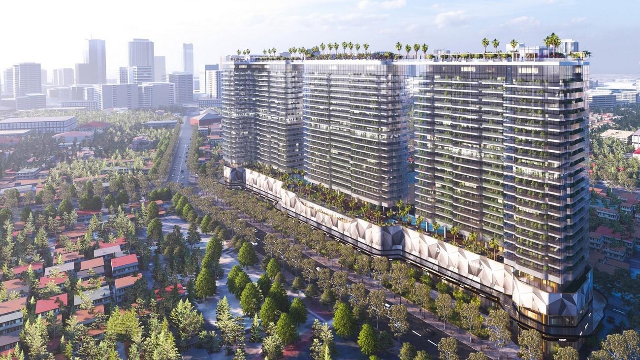 Phối cảnh tổng thể dự án căn hộ cao cấp Sunshine Continental Quận 10