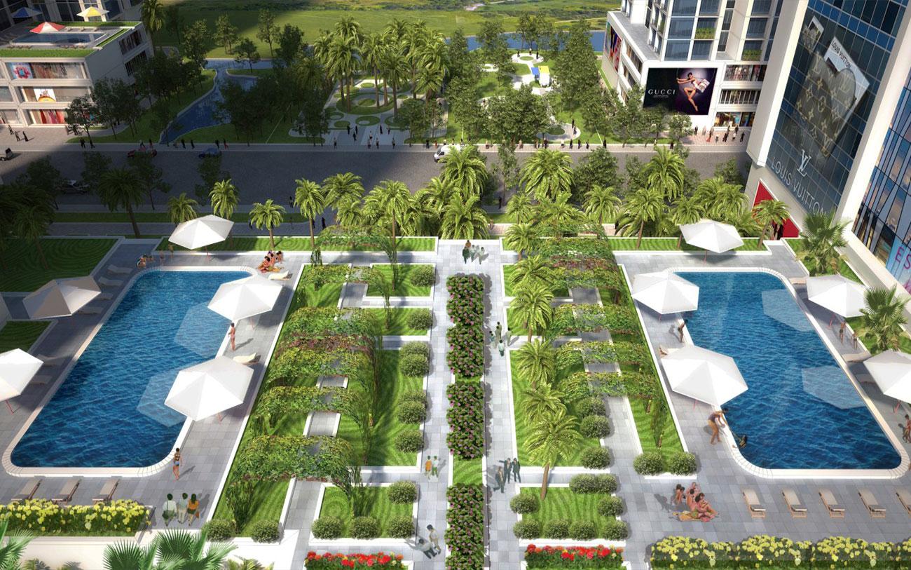 Tiện ích dự án Babylon Garden Đào Trí Quận 7