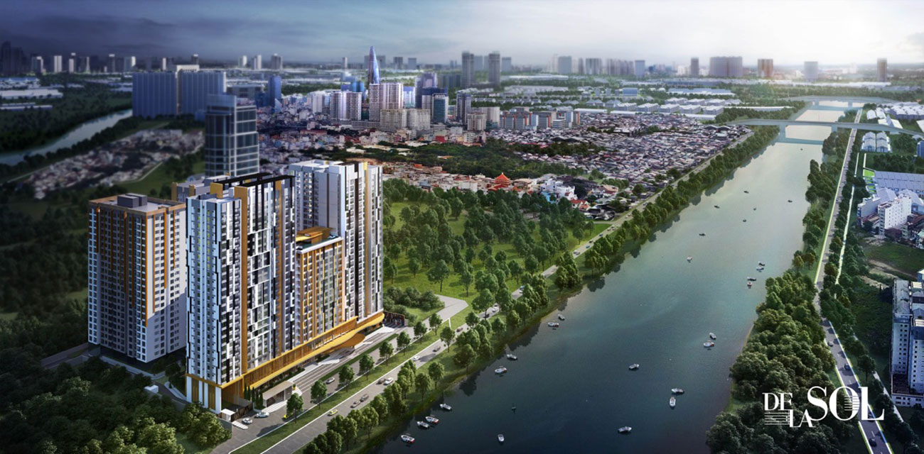 tiện ích dự án căn hộ cao cấp de la sol quận 4 capitaland