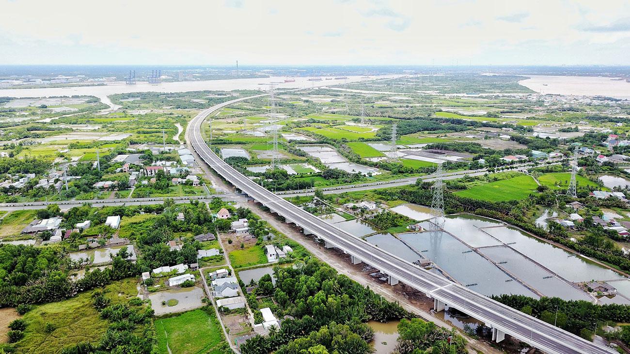 Cao tốc Bến Lức Long Thành hứa hẹn sẽ làm tăng giá trị thị trường Nam Sài Gòn