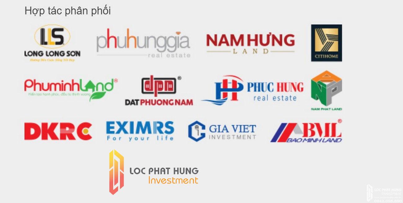 Các đối tác phân phối dự án căn hộ Dream Home Palace