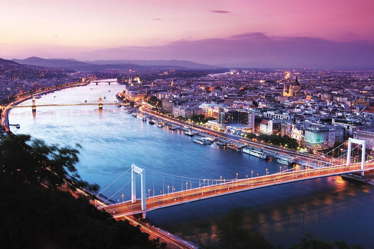Dòng sông Danube tuyệt đẹp