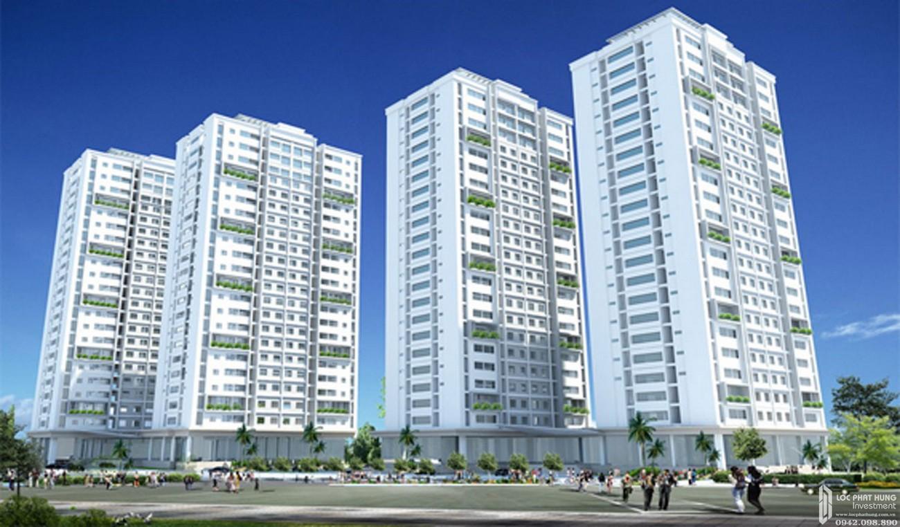 Phối cảnh dự án căn hộ Hado Garden Homes