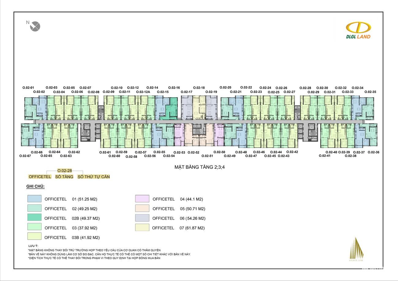 Mặt bằng dự án Căn Hộ chung cư Đức Long Golden Land Quan 7 Đường Huỳnh Tấn Phát chủ đầu tư Đức Long Gia Lai