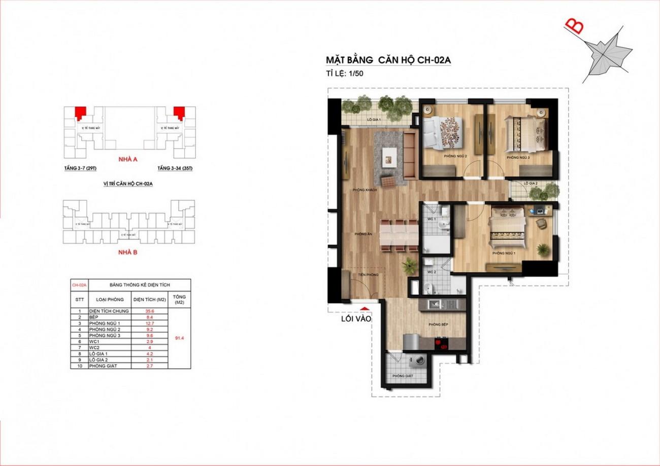 Thiết kế chi tiết dự án căn hộ Him Lam City Quận 2