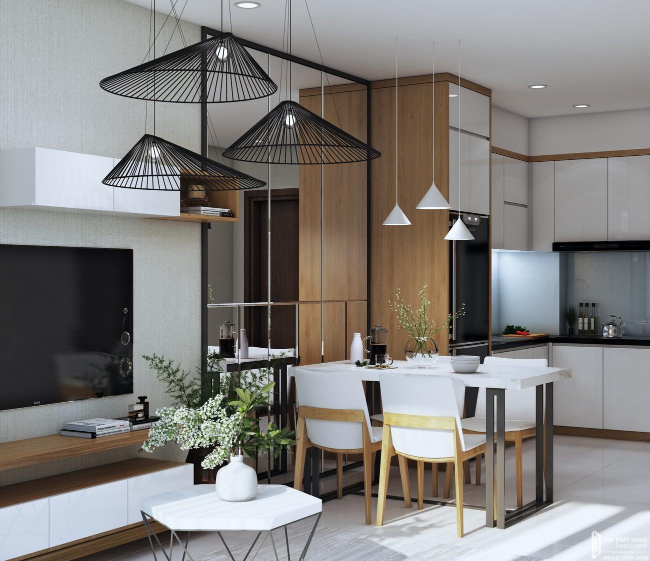 Nhà mẫu dự án Căn Hộ chung cư Bcons Green View Dĩ An Đường Quốc Lộ 1K chủ đầu tư BCONS