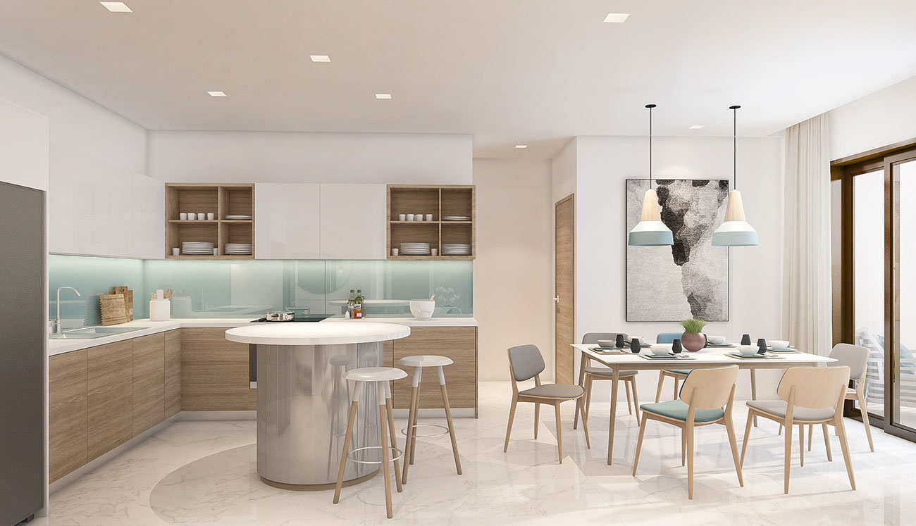 Nhà mẫu dự án căn hộ D Vela