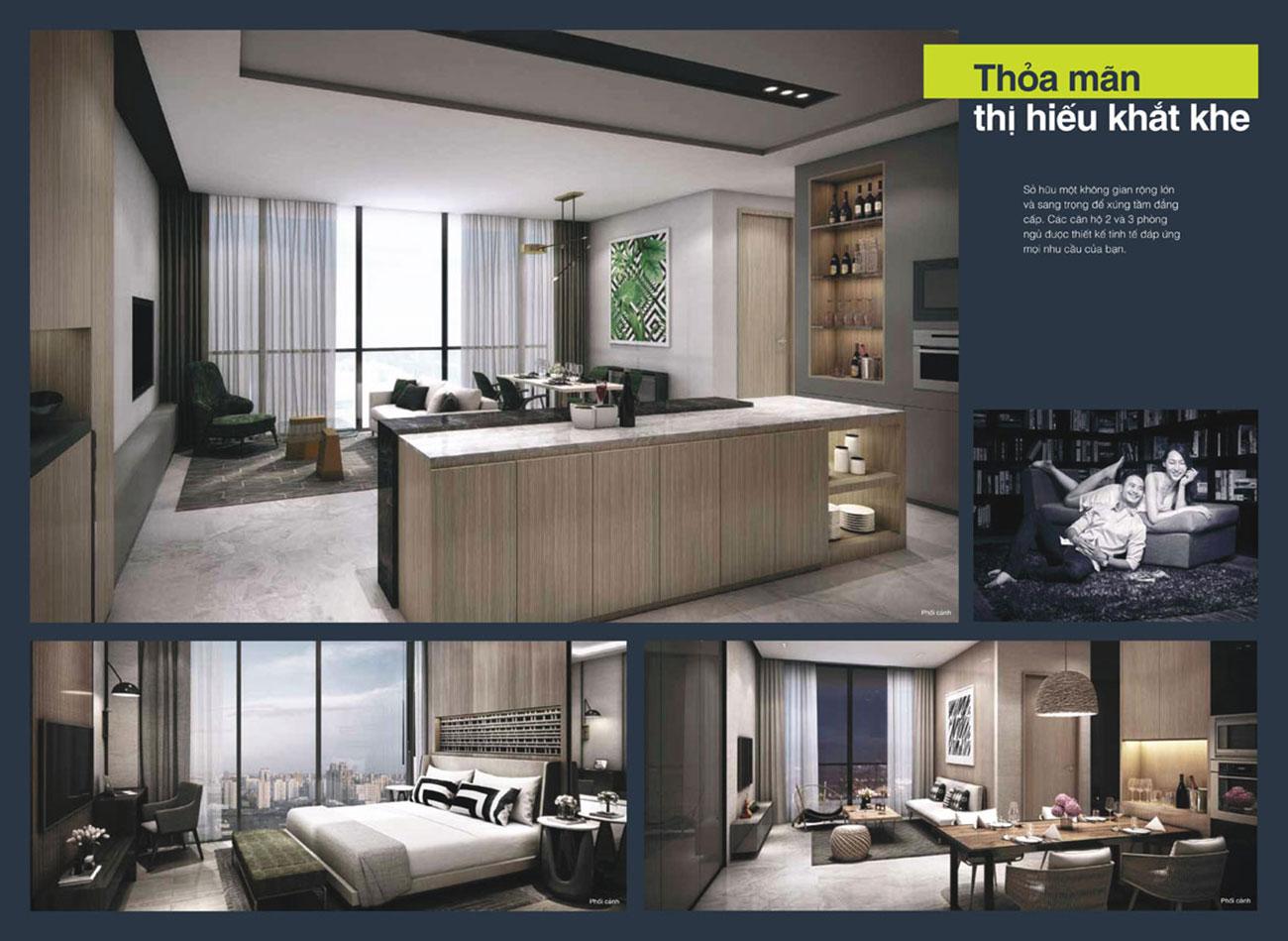 Hình ảnh nhà mẫu Empire City - Linden Residences