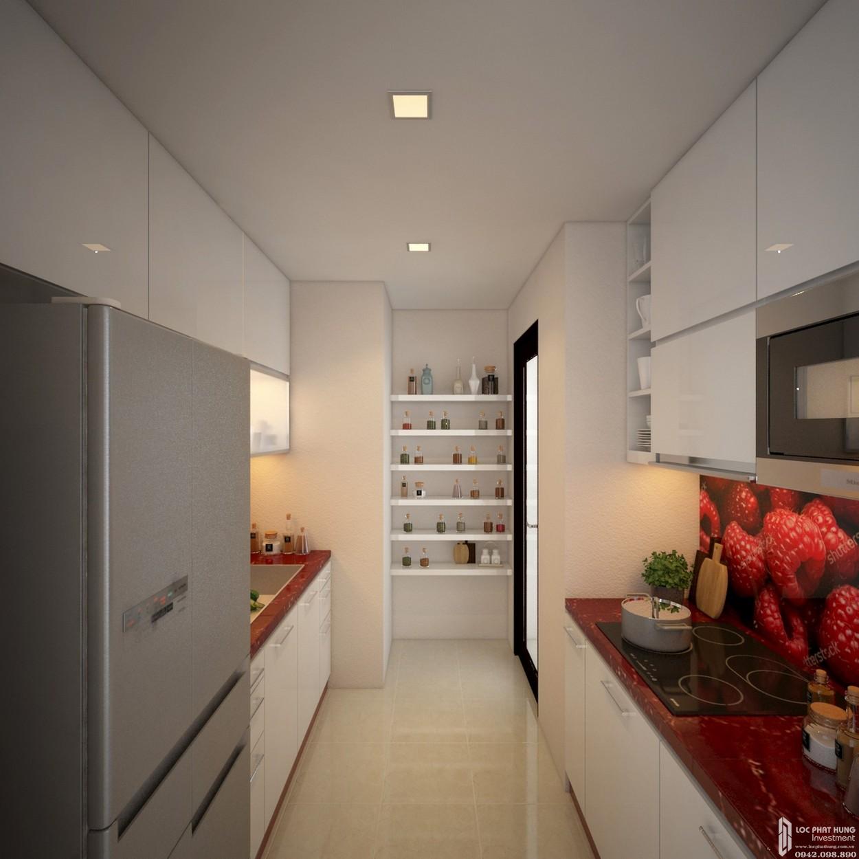 Nhà mẫu dự án căn hộ Dream Home Riverside quận 8