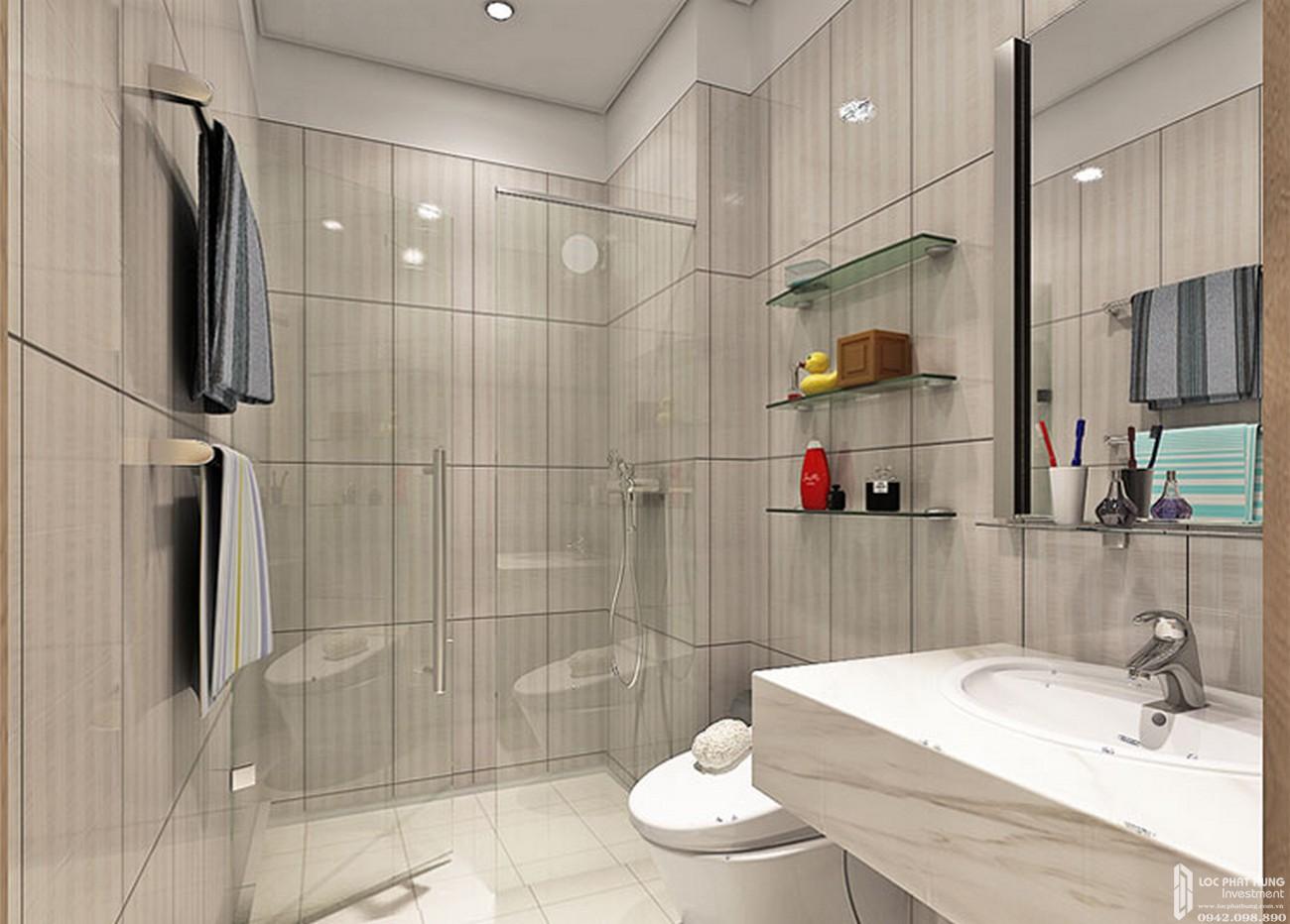 Nhà mẫu dự án căn hộ High Intela quận 8